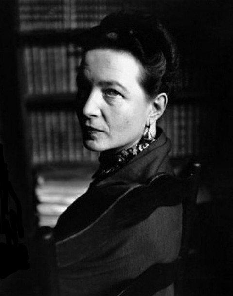Resultado de imagem para Simone de Beauvoir
