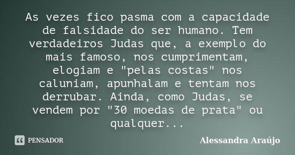 As Vezes Fico Pasma Com A Capacidade De Alessandra Araújo