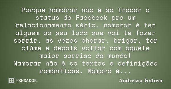 Frases De Aliança De Namoro Para Facebook