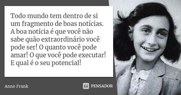 Tag O Diario De Anne Frank Frases Pensador