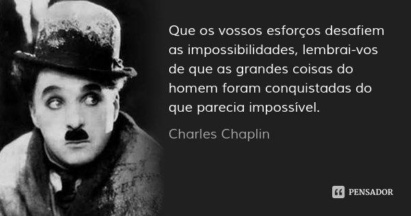 Termo autor charles chaplin em Portugal - Por7ugal.com