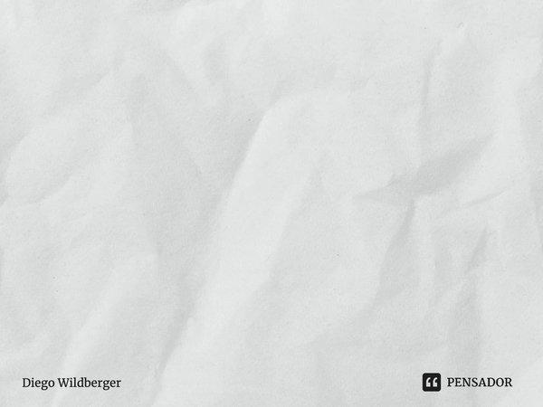 Evite que sua intuição seja poluída pelos seus pensamentos.... Frase de Diego Wildberger.
