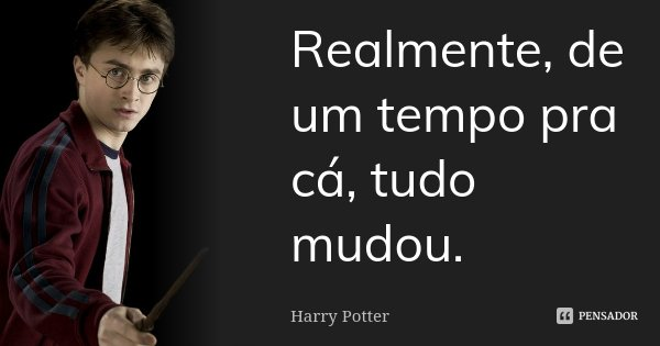 121bffaaa Harry Potter  Realmente