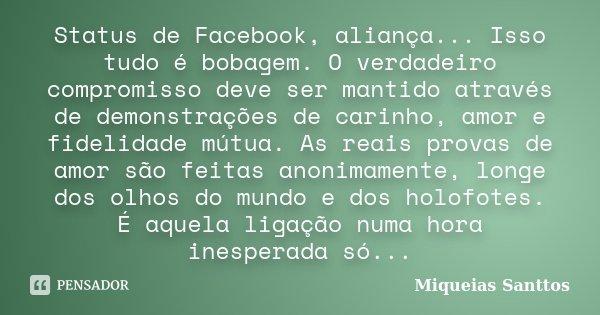 Tag Frases De Aliança De Compromisso Para Facebook