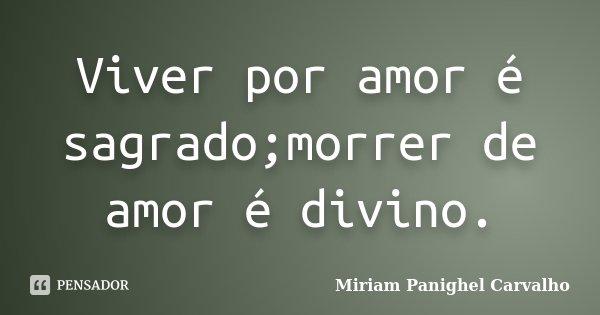 Viver Por Amor Frases