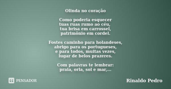Ao Melhor Frases De Frida Kahlo Em Espanhol: Olinda No Coração Como Poderia... Rinaldo Pedro
