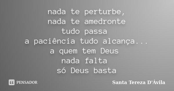 Frases De Santa Teresa De Jesus