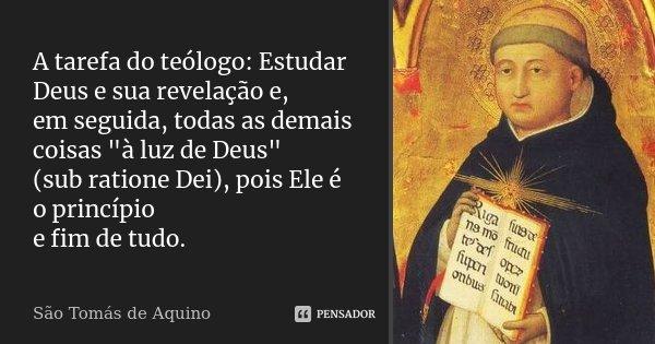 Tag Santo Tomás De Aquino Frases Celebres