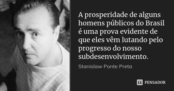 Resultado de imagem para Stanislaw Ponte Preta