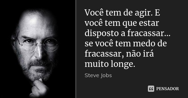 Tag Frases Motivacionais Steve Jobs