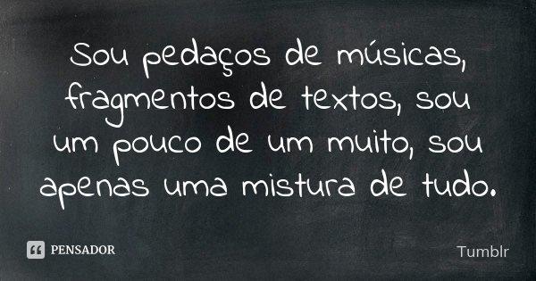 Tag Frases De Musicas Para Fotos Tumblr