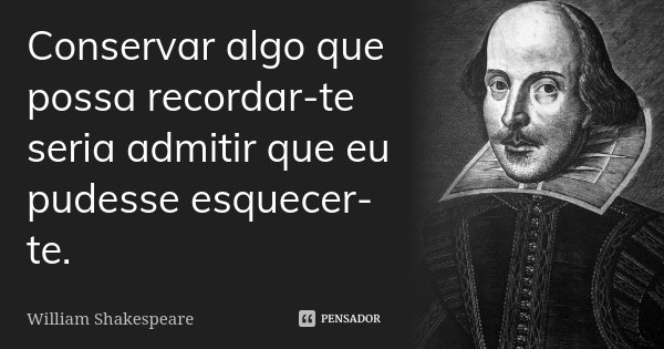 William Shakespeare Pensador