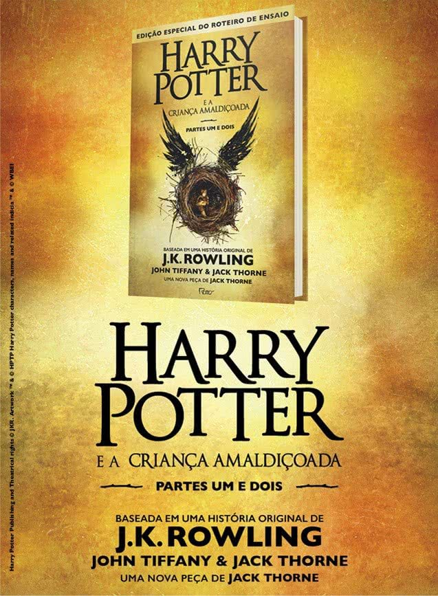 harry potter e a criança amaldiçoada cursed child