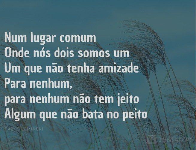 melhores poemas de paulo leminski