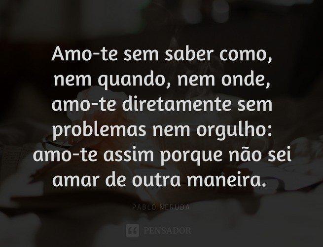 Poemas de amor mais famosos do brasil