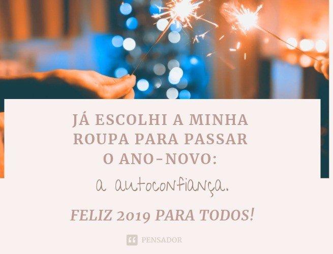 Frases curtinhas de Feliz Ano-Novo