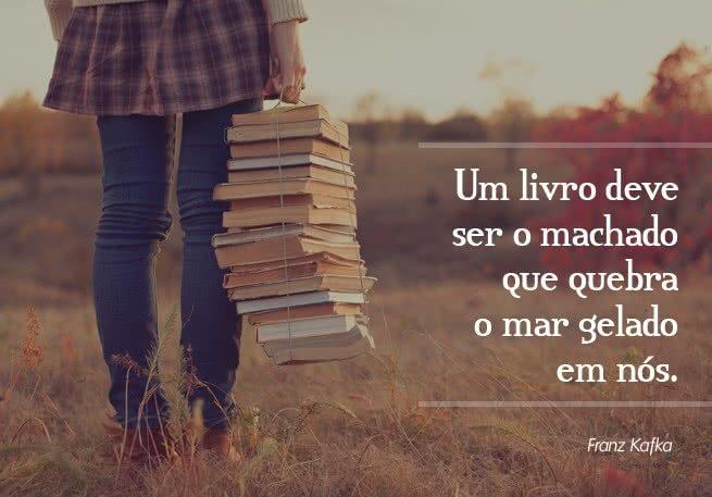frases para quem adora ler, sobre livros