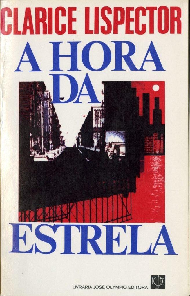 Capa do livro A Hora da Estrela