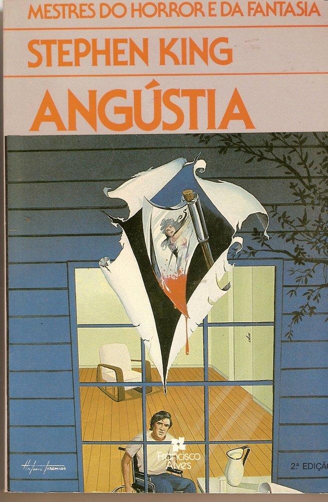 Capa do livro Angustia