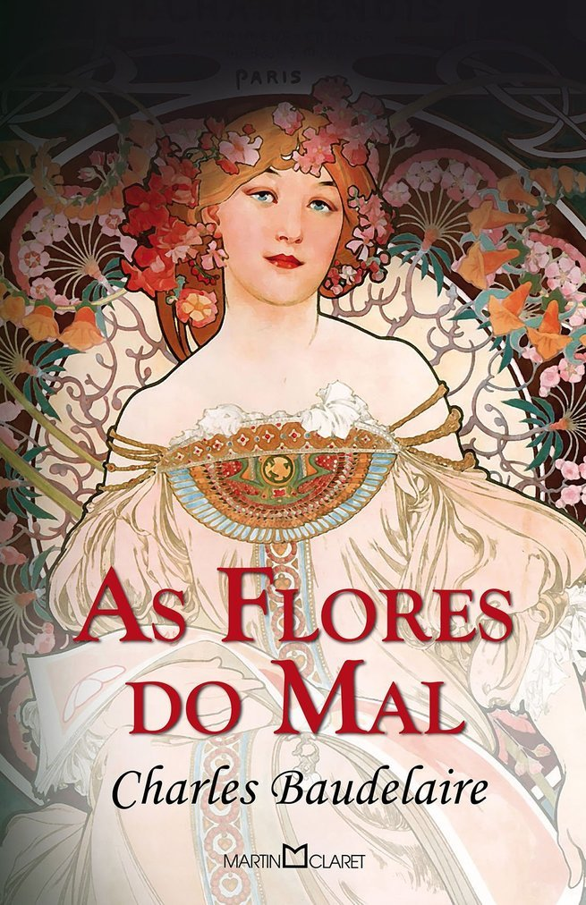 As flores do mal, de Charles Baudelaire