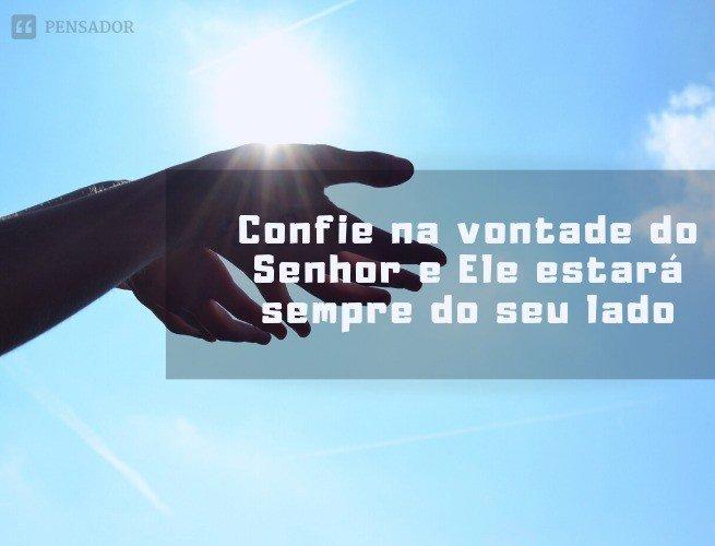 Enquanto há vida, há esperança. (Eclesiastes 9:4)  Confie na vontade do Senhor e Ele estará sempre do seu lado, iluminando o seu caminho e enchendo o seu coração de luz.