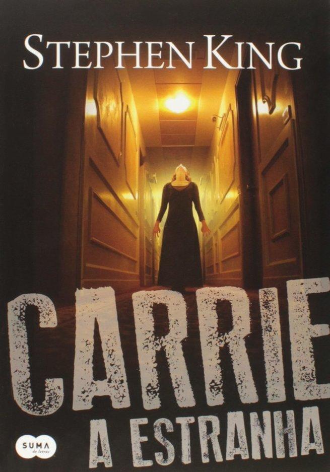 Capa do livro Carrie, a estranha (1974)