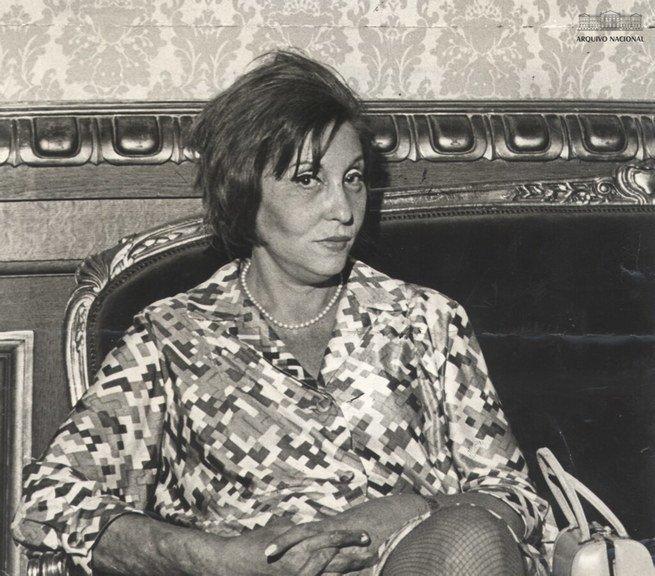 Retrato de Clarice Lispector - Arquivo Nacional