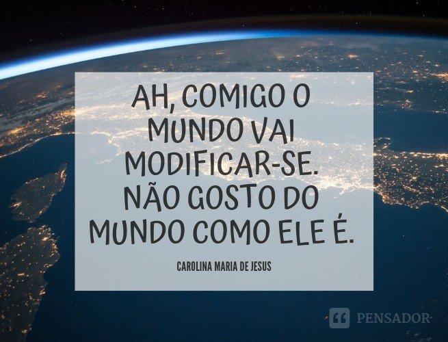 Carolina Maria de Jesus Mundo