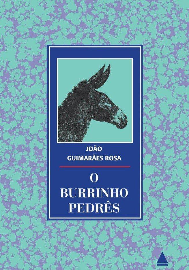 Capa do livro O Burrinho Pedrês de Guimarães Rosa