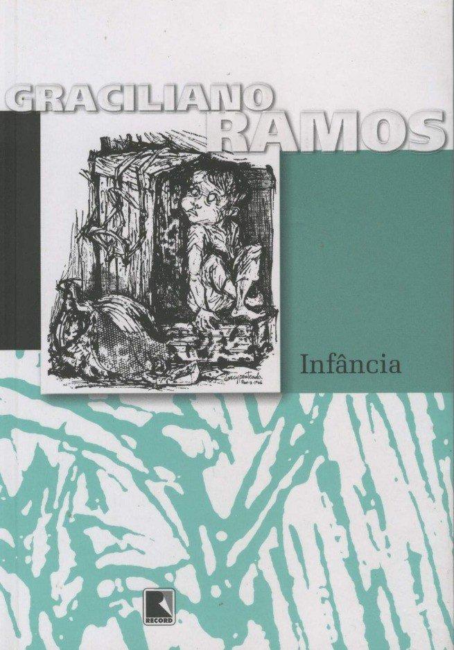 Capa da livro Infância (onde está o conto um cinturão de Graciliano Ramos)