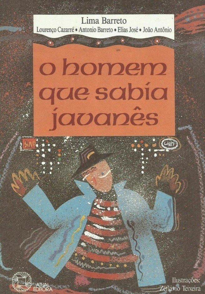 Capa do livro O homem que sabia javanês de Lima Barreto
