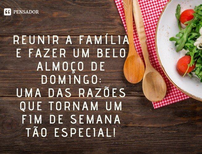 Reunir a família e fazer um belo almoço de domingo: uma das razões que tornam um fim de semana tão especial!