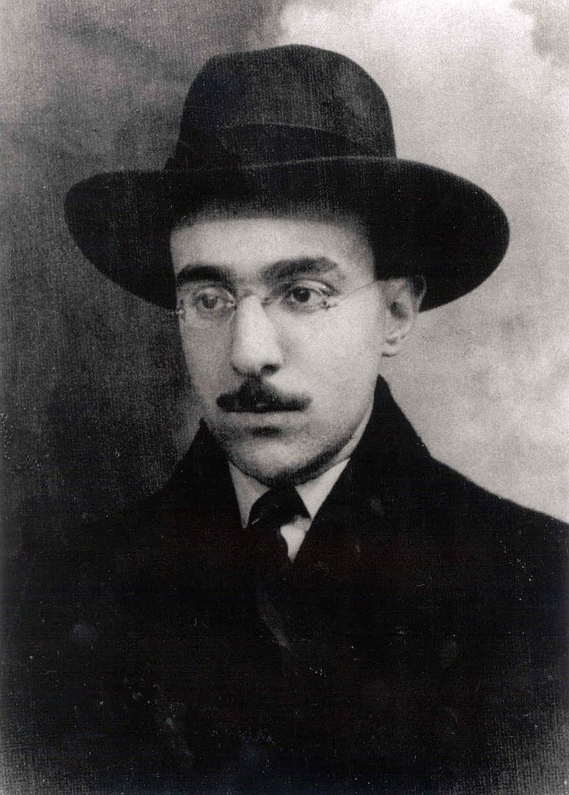 Retrato de Fernando Pessoa