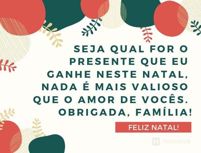 7b35b4b58 30 frases curtinhas de Natal para compartilhar no Whatsapp - Pensador