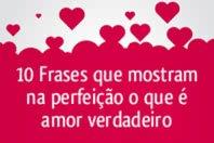10 Frases que descrevem amor verdadeiro de forma perfeita