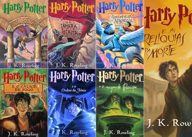 Livros da Série Harry Potter