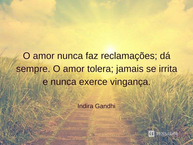 indira gandhi - amor incondicional