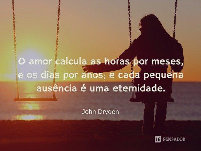 John Dryden - amor incondicional