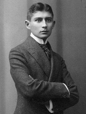 Retrato de Kafka em 1906.