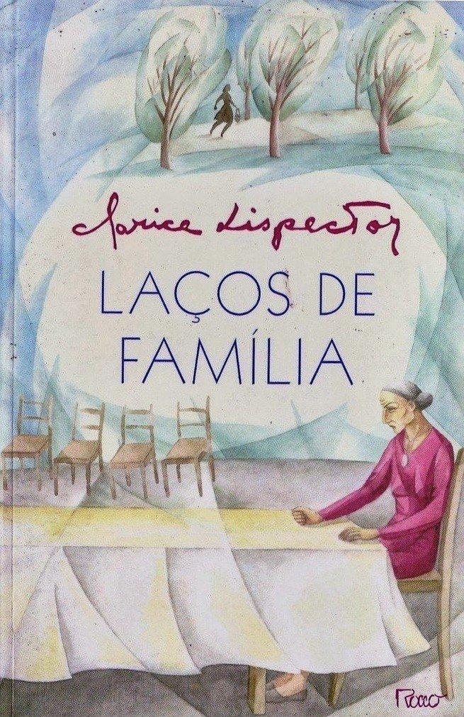 Capa do livro Laços de Familia.