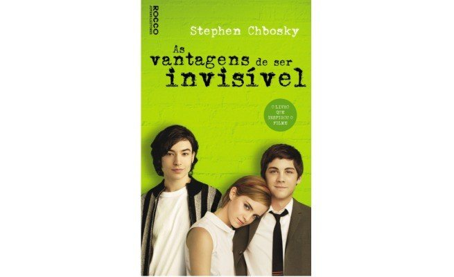 livro: As Vantagens de Ser Invisível, de Stephen Chbosky