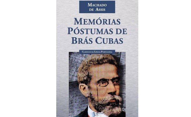 livro: Memórias Póstumas de Brás Cubas, de Machado de Assis