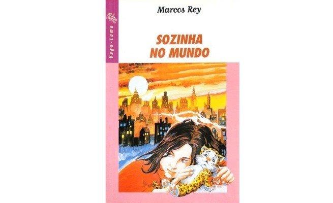 livro: Sozinha no Mundo, Marcos Rey