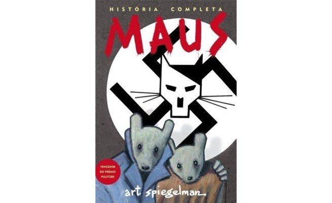 livro: Maus — A História de Um Sobrevivente, de Art Spiegelman