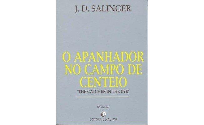 livro: O Apanhador no Campo de Centeio, de J.D. Salinger