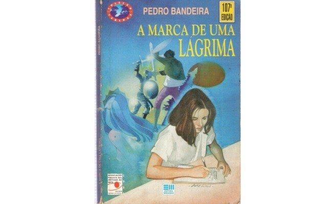 livro: A Marca de uma Lágrima, de Pedro Bandeira
