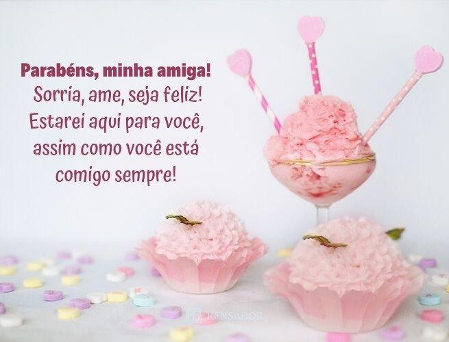 Mensagens de aniversário para amiga_14