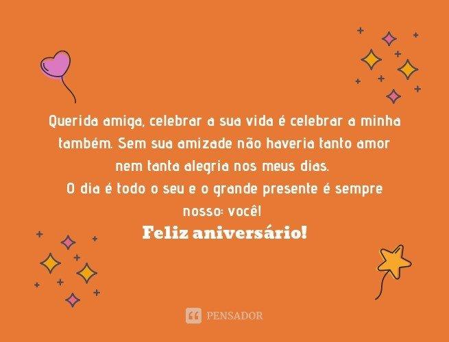 Mensagens de aniversário para amiga_8