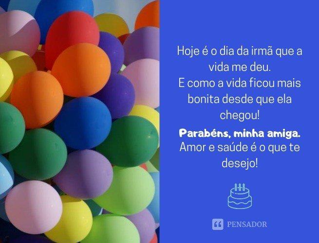 Mensagens de aniversário para amiga_9