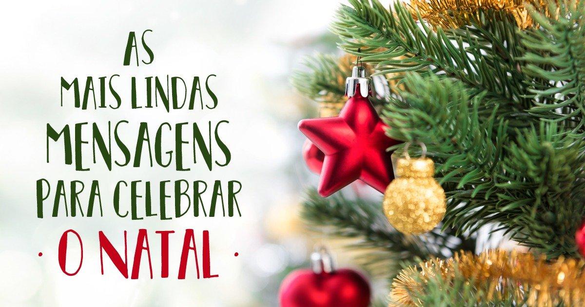 Feliz Natal Lindas Mensagens Com Imagens E Vídeos De Boas